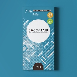 71% Dark Chocolate sweetened with Maltitol 100g